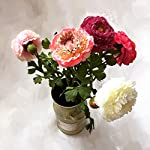 Lily-Garden-6-Stems-Silk-Ranunculus-Artificial-Flowers-Purple