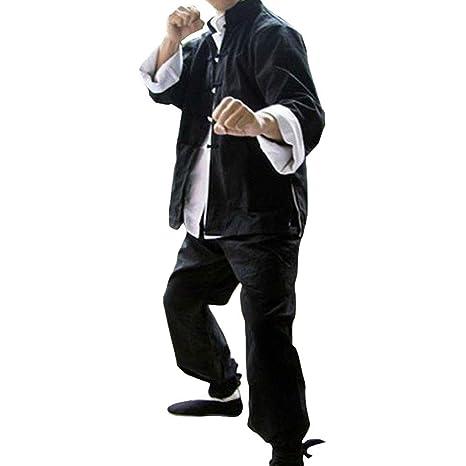 HruiZ Uniforme de Artes Marciales, Trajes Tang para Kung fu ...