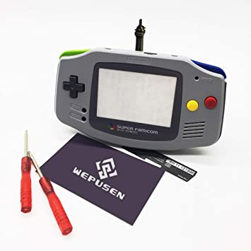 WEPUSEN Limited Edition - Carcasa de Repuesto para Nintendo Gameboy Advance