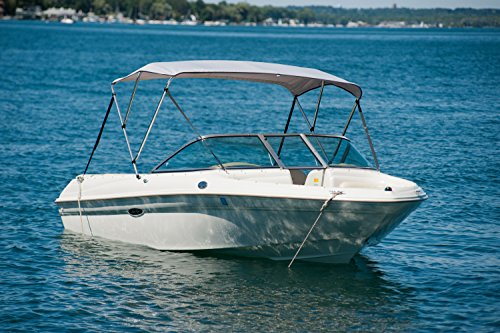 Boat Bimini Top Cover With Hardware Lakehouselifer