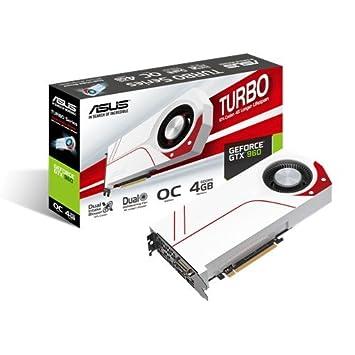 Asus Turbo-GTX 960-OC-4GD5 - Tarjeta gráfica de 4GB (PCI