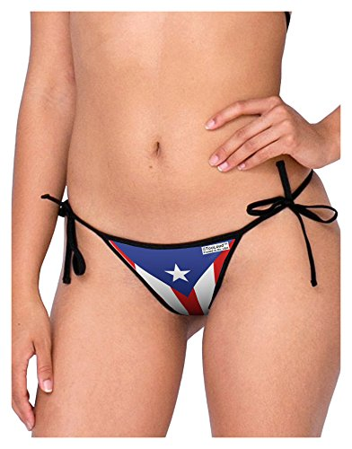 TooLoud Puerto Rico Flag AOP Swimsuit Bikini Bottom S All Over Print by TooLoud