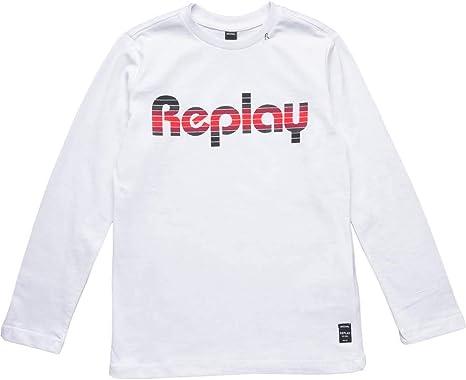 Replay Boys Long Sleeve Top