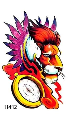 Amazon Com Lion King Temporary Tattoo Tato Temporary