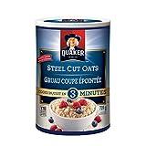 Instant Quaker Oats Quaker Quick Cook Steel Cut Oats, 709g