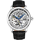 """Stuhrling Original Mens """"Specialty Winchester"""" Skeleton Automatic Self Winding Dress Watch With Premium Leather Band"""