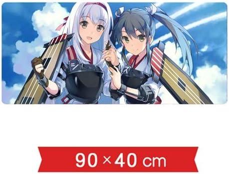 DMWSD Tabla ratón estera del cojín Kantai colección de juegos de anime caracteres Shoukaku Zuikaku hermana nave marina Team Attack Quinta Aviación super-grandes resbalón del resbalón del juego alfombr: Amazon.es: Hogar