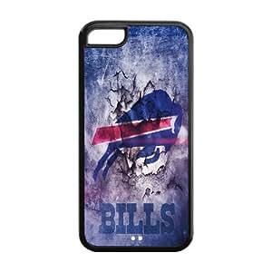 Custom Buffalo Bills NFL Series Back Cover Case for iphone 5C JN5C-1083