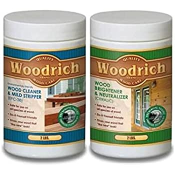 Complete Wood Cleaner Amp Wood Brightener Kit For Wood Decks