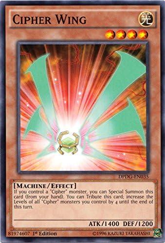 Rank-Up-Magic Cipher Ascension Yugioh Card Genuine Yu-Gi-Oh Trading Card