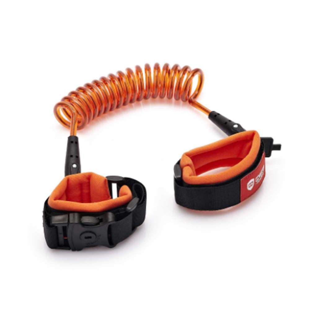 Children's Leash,Baby Toddler Restraint Security Harness Strap Leash Walking Hand Belt Child Kids Travel Cares Safety Elastic Wire Rope,Orange