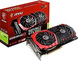 MSI GeForce GTX 1060 Gaming X 6G - Tarjeta gráfica (refrigeración ...