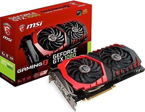 Price comparison product image Msi GEFORCE GTX 1060 GAMING X 6G HDMI 3-Display Port PCI ExpressVideo Card