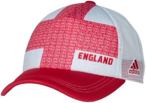 England Adidas 2014 FIFA World Cup Adjustable Mesh Back Trucker Hat