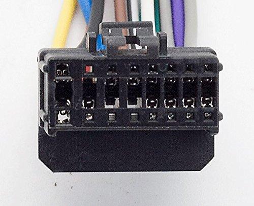 f/ür Pioneer DEH P-Serie carav 15 24/x 10 mm Stereo-Radio-Kabel-Adapter-Stecker-Verkabelung ISO-Standard 16-Pin ausgew/ählte Modelle 006/Harness-Kabelbaum f/ür Kfz