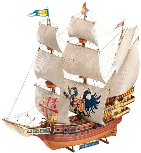 ドイツレベル 1/96 スパニッシュ ガレオン 帆船 05620 プラモデル