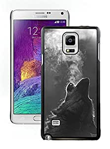 Popular And Durable Designed Case With Winter Wolf Howling Black For Samsung Galaxy Note 4 N910A N910T N910P N910V N910R4 Phone Case