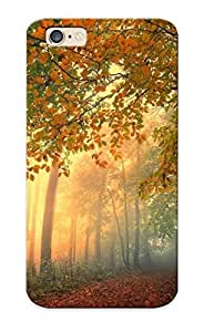 New Diy Design Autumn Light In The Forest For Iphone 6 Cases Comfortable For Lovers And Friends For Christmas Gifts by lolosakes