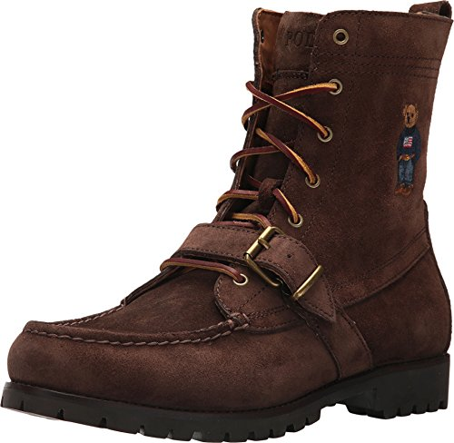 Polo Ralph Lauren Men's Ranger B Fashion Boot, Brown, 10.5 D - Men Lauren Ralph Boots Polo