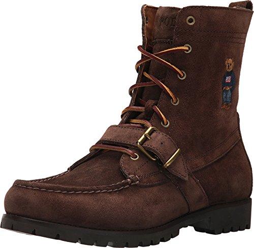 Polo Ralph Lauren Men's Ranger B Fashion Boot, Brown, 10.5 D - Polo Boots Men Ralph Lauren