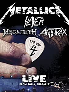 Metallica/Slayer/Megadeth/Anthrax : The Big 4 - Live from Sofia, Bulgaria (5 CD/2 DVD Set)