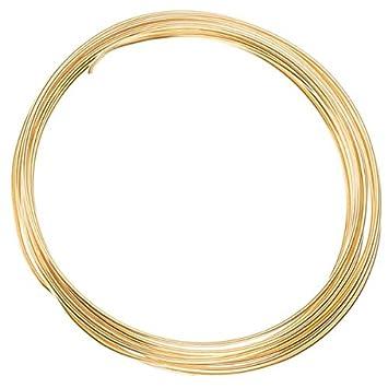 vergoldet Kupfer Draht für Schmuckherstellung 1,25 mm – 3 m: Amazon ...