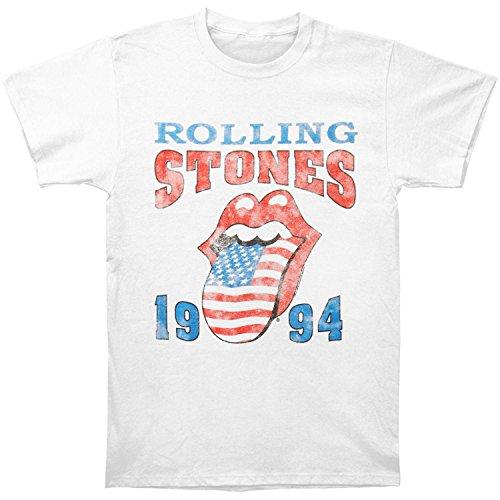 The Rolling Stones Merchandise (Rolling Stones Men's 1994 Stones T-shirt Medium White)