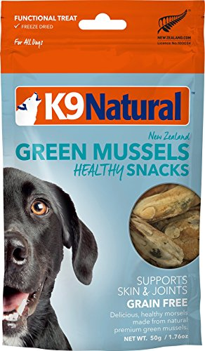 K9 Natural Freeze-dried Green Lipped Mussels 1.76oz