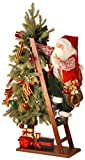National Tree 42 Inch Climbing Santa on Tree with 35 Warm White LED Lights (PL27-CH1445)