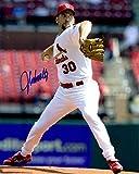 Autographed John Smoltz 8x10 St. Louis Cardinals Photo