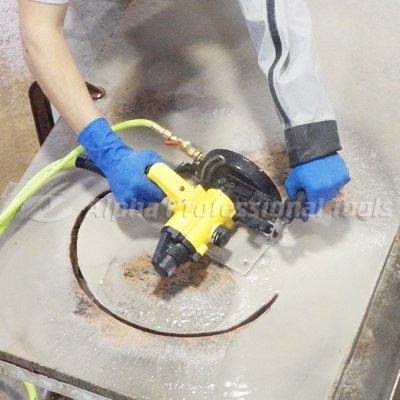 Alpha AIR-680 Pneumatic Stone Polisher