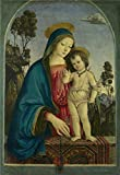 Oil Painting 'Pintoricchio The Virgin And Child', 24 x 35 inch / 61 x 88 cm , on High Definition HD canvas prints is for Gifts And Home Office, Kids Room And Study Room Decoration, online