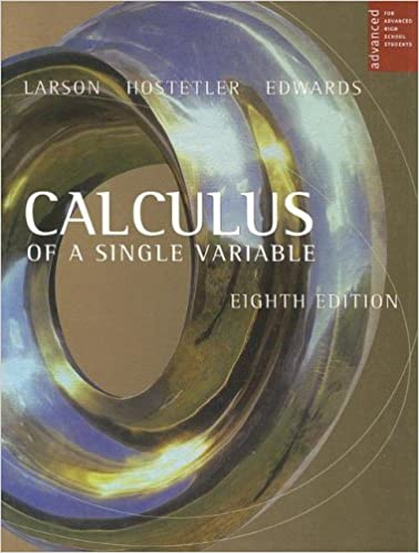 Calculus Of A Single Variable For Advanced High School