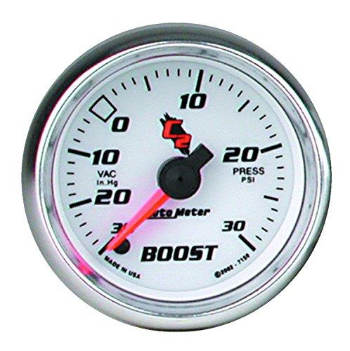 Auto Meter 7159 C2 Full Sweep Electric Boost / Vacuum - Sweep Full C2
