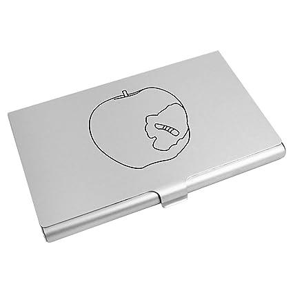 Apple con Gusano Tarjeta de Visita Titular (CH00001662 ...