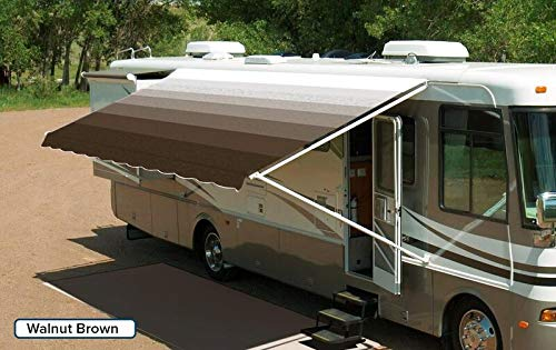 Innova RV Vinyl Awning Replacement Fabric - Walnut Brown 18' (Fabric 17'2'') by Innova (Image #1)