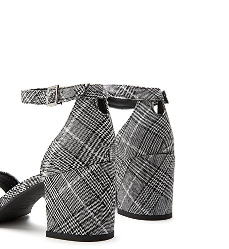 S Color Sandalias Planas Verano DHG Zapatillas Moda de Ocasionales Sandalias Punta Dulces de de Mujer de Sandalias de aTddqw1f