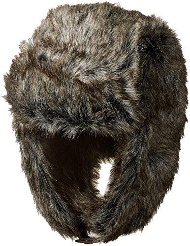 Dockers Men's Trapper Hat, Charcoal Casual, (Medium Trapper)