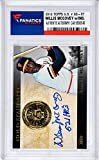 Willie McCovey San Francisco Giants Autographed 2012 Topps GS #GS-37 Card with 521 HRs Inscription - Fanatics Authentic Certified