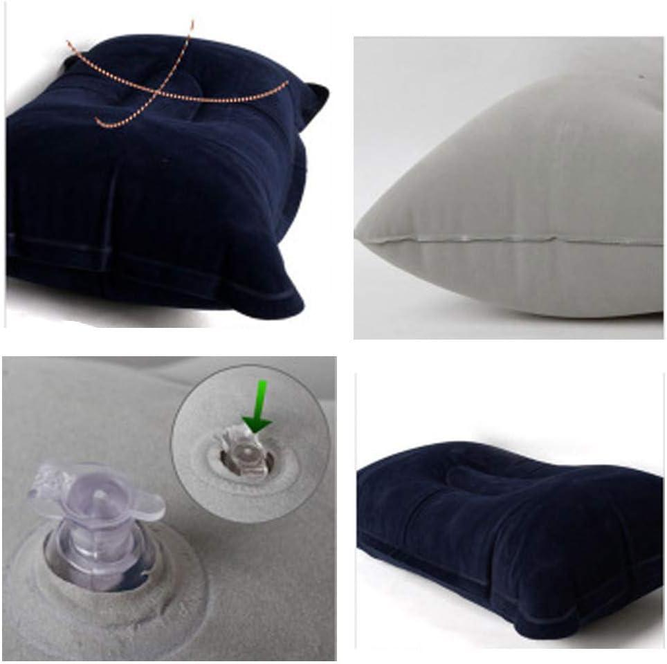 Almohada de camping compresible port/átil ultraligero ergon/ómico Almohada inflable CZ-XING