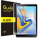 IVSO Screen Protector for Samsung Galaxy TAB A 8.0 2018 T387, [Scratch-Resistant] 9H Hardness HD Clear Tempered Glass Screen Protector for Samsung Galaxy TAB A 8.0 2018 T387 Tablet (Clear)