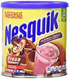 Nesquik Strawberry Flavor Powder, 14.1 Ounce