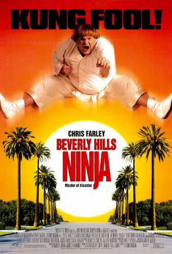 Amazon.com: Beverly Hills Ninja Poster (27 x 40 Chris Farley ...