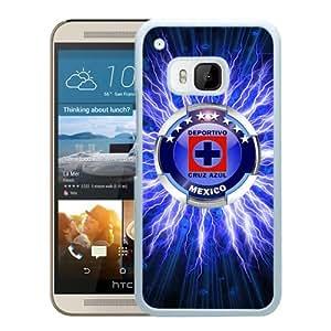 Fashionable Custom Designed Skin Case For HTC ONE M9 With CDSC Cruz Azul White Phone Case 1