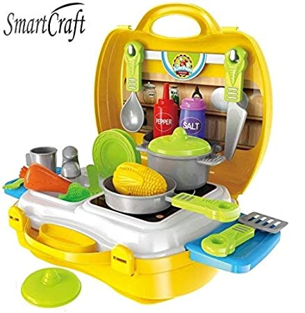 Smartcraft Ultimate Kid Chef Bring Along Kitchen Cooking
