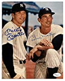 Mickey Mantle & Billy Martin reprint 8x10 Photo New York Yankees - Mint Condition