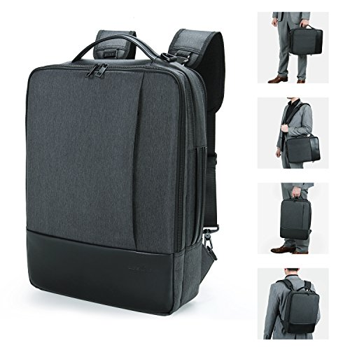 Lifewit Convertible 15.6 Inch Laptop Backpack 4 in 1 Travel Busniess Multi-functional Shoulder Briefcase Water Repellent College School Computer Bag