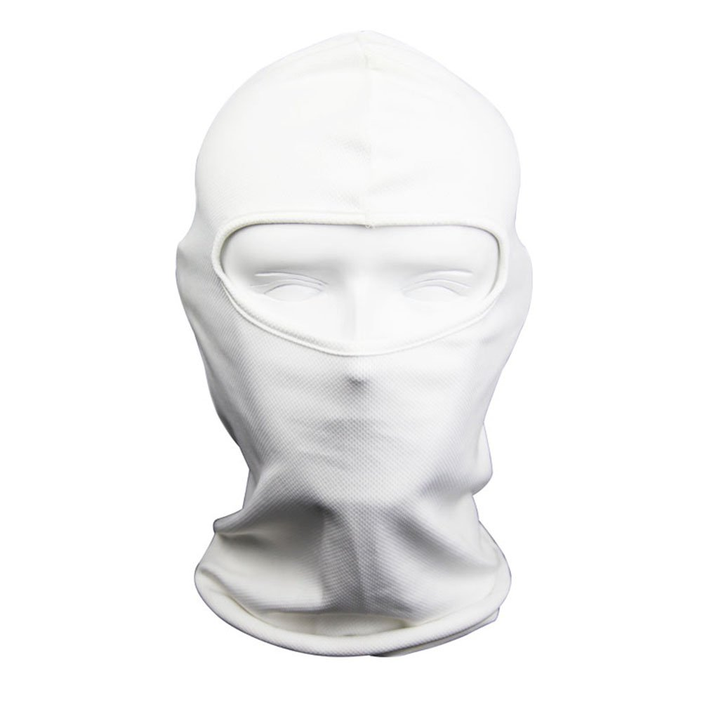 NewNow Candy Color Ultra Thin Ski Face Mask - Great Under A Bike / Football Helmet -Balaclava-White by NewNow (Image #1)
