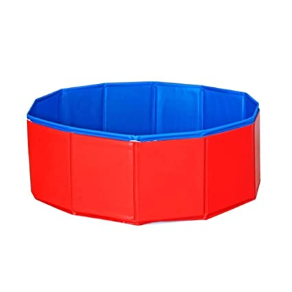 Amazon.com : Portable Pet Pool, Collapsible Swimming Pool ...