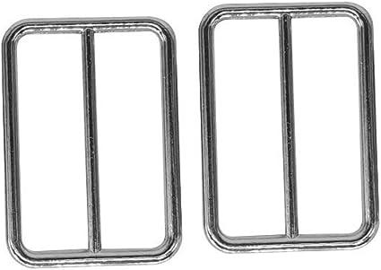 Gold DIY Art /& Craft Bag Accessories 2pcs Webbing Straps Adjuster 35mm Backpack Weddecor Metal Triglide Slider Replacement Buckle for Repairing Belts